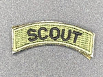 Scout Tab Patch Green