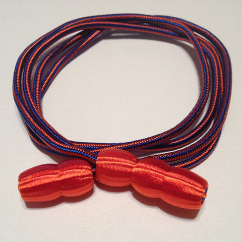 Hat Cord - Blue - Orange - Aviation - CavHooah.com