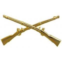 Infantry Branch Insignia - Crossed Rifles