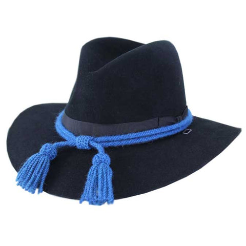 Civil War Style Hat Cord - Infantry Blue