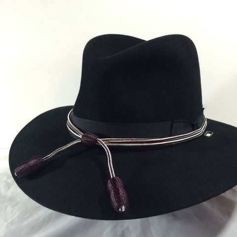 Hat Cord Maroon and White Hospital Corps Dental