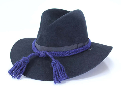 Civil War Style Hat Cord - Navy Blue Chemical