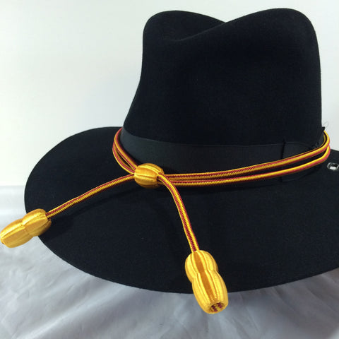 Hat Cord Red / Yellow w/ Yellow Acorns Ordnance