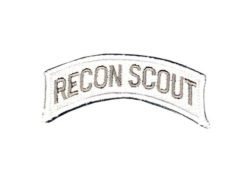 Recon Scout Tab Patch Grey