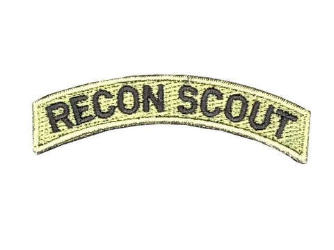Recon Scout Tab Patch Green