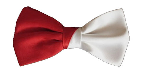Cavalry Red and White Bowtie