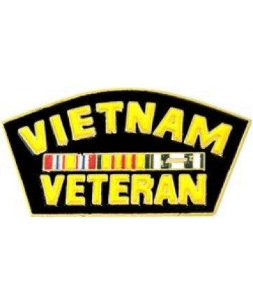 Vietnam Veteran Service Ribbon Pin