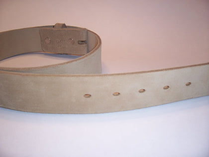 Desert Tan Suede Belt
