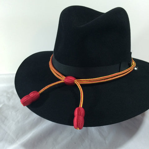 Hat Cord Red / Yellow w/ Red Acorns Transportation
