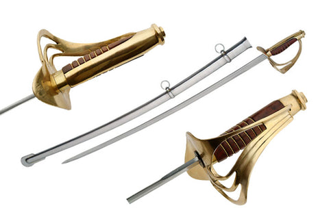 Wood Handle Cavalry Saber - CavHooah.com