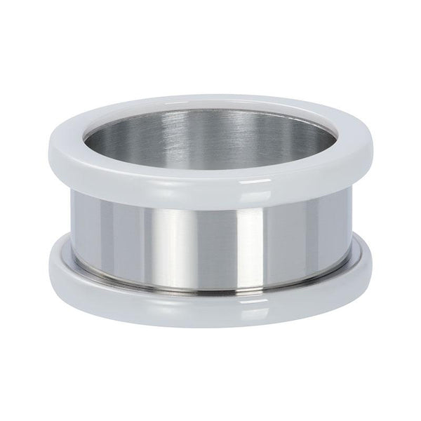 Basis ring ceramic 10 mm - iXXXi - Silver