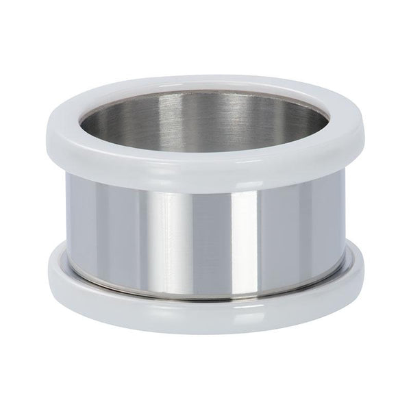 Basis ring ceramic 12 mm - iXXXi - Silver