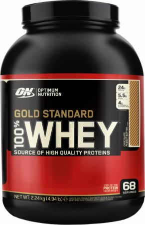 Optimum Nutrition On Gold Standard 100% Whey (2.2 kilograms) (UK/AU)