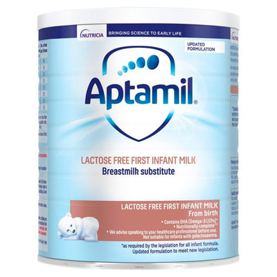 Aptamil Lactose Free Baby Milk Formula From Birth 400g (UK/AU) - eJinish BD