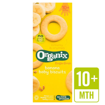 Organix Banana Baby Biscuit 54g (UK/AU)