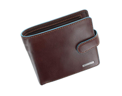 Visconti Alps Collection Tom Bi-Fold Leather Wallet with RFID Protection (UK/AU)