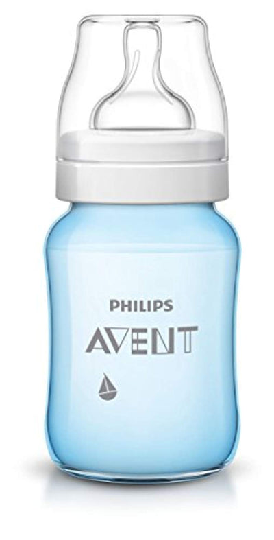Philips Avent Baby Classic Bottle (260 ml, Blue Boats, Pack of 2) - eJinish BD