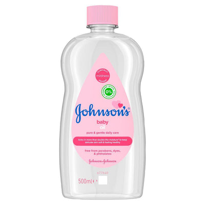Johnson's Baby Oil 500ml (UK/AU)