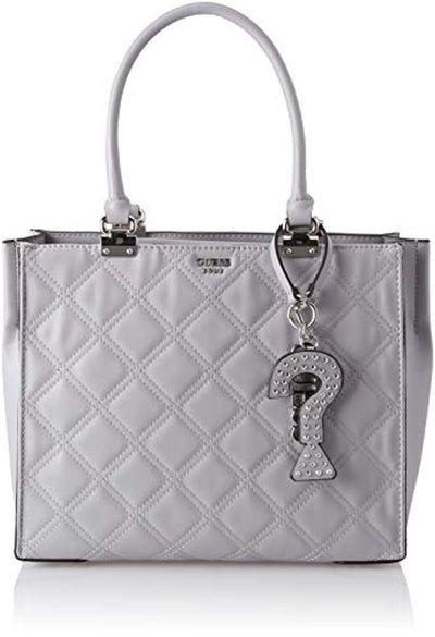 Guess Guess Status, Women's Shoulder Bag, Grey (Cloud/Cld), 34.5x26x14 cm (W x H L) - eJinish BD