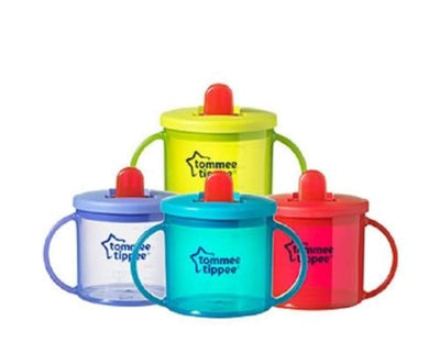 First Cup Essentials free flow from Tommee Tippee Age 4m+ 190ml (green) - eJinish BD