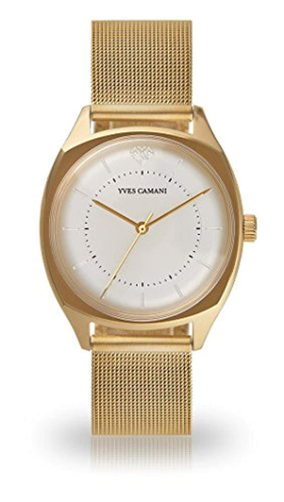 YVES CAMANI YVETTE Women's Wristwatch Analog Quartz (Mesh - Gold) - eJinish BD