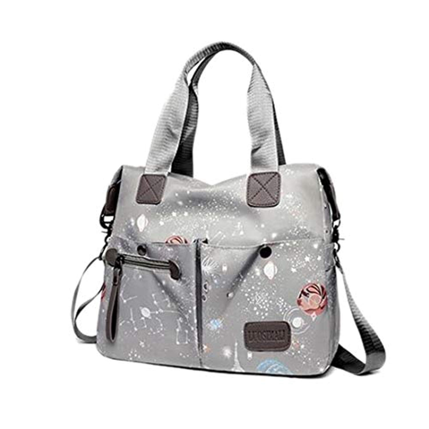New Uk Ladies Cross Body Messenger Hand Bag Multi Pockets Two Compartments Bag