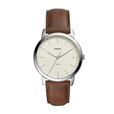 Fossil Mens Analogue Quartz Watch with Leather Strap FS5439 - eJinish BD