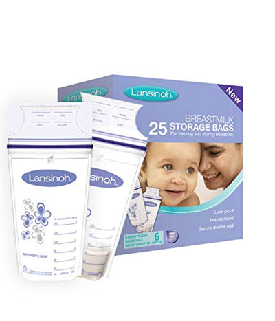 Lansinoh Breast Milk Storage Bags Breastmilk Pouches (25 Piece Pack) - eJinish BD
