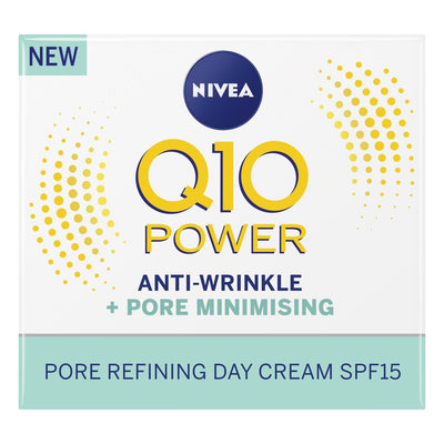 NIVEA Q10 Power Anti-Wrinkle Day Face Cream SPF15 50ml (UK/AU)