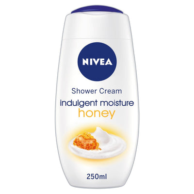 NIVEA Shower Gel Cream Indulgent Moisture Honey 250ml (UK/AU)