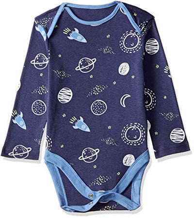 Mothercare Baby Boys 5 Pack Long Sleeve Mummy & Daddy Bodysuits - eJinish BD