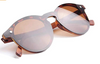 Wildwood Women's Wooden Cat Eye Cote d'Azur Polarised Sunglasses (UK/AU)
