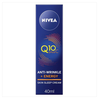 Nivea Q10 +C Anti-Wrinkle Cream 40ml (UK/AU) - eJinish BD