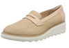Clarks Women's Sharon Ranch Loafers Beige (Nude) (UK/AU)