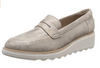 Clarks Women's Sharon Ranch Loafers Beige (Pewter) (UK/AU)