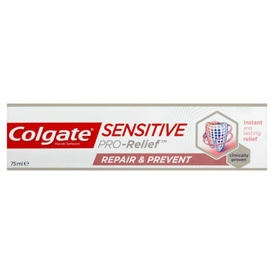 Colgate Sensitive Pro Relief Repair & Prevent Toothpaste 75ml (UK/AU)