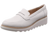 Clarks Women's Sharon Ranch Loafers White (UK/AU)