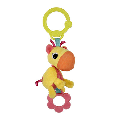 Bright Starts Pretty Shimmy Shaker, 1 piece, Assorted (Beetle or Giraffe) (UK/AU)