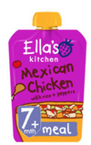 Ella's Kitchen Mexican Chicken with Rice & Peppers 130g (UK/AU)