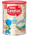 Nestle Cerelac Rice with Milk Infant Cereal 6m+ 400g (UK/AU)