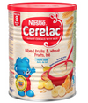 Nestle Cerelac Mixed Fruits & Wheat with Milk Infant Cereal 8m+ 400g (UK/AU)