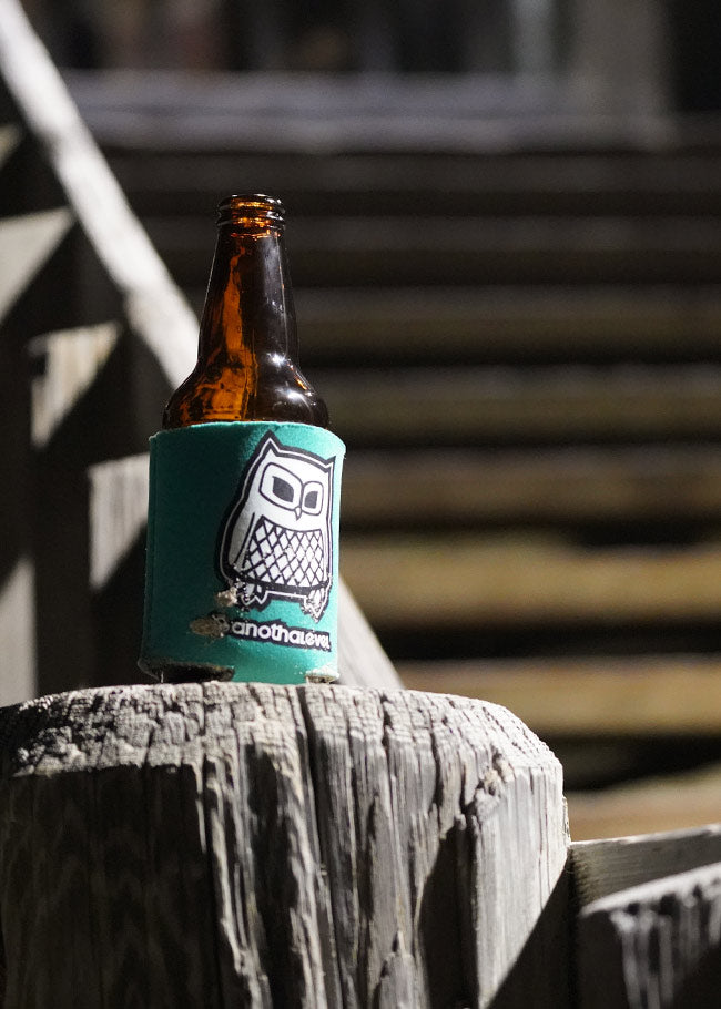 Owl Beer Coozie