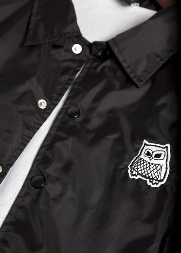 Button-Up Owl Coaches Jacket