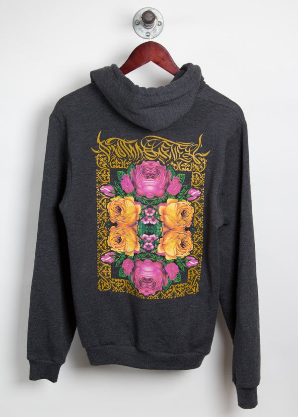 Kaleidoscope Floral Zip-Up