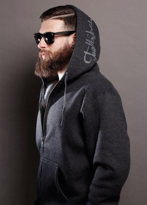 Super Heavyweight Zip-Up Hoodie
