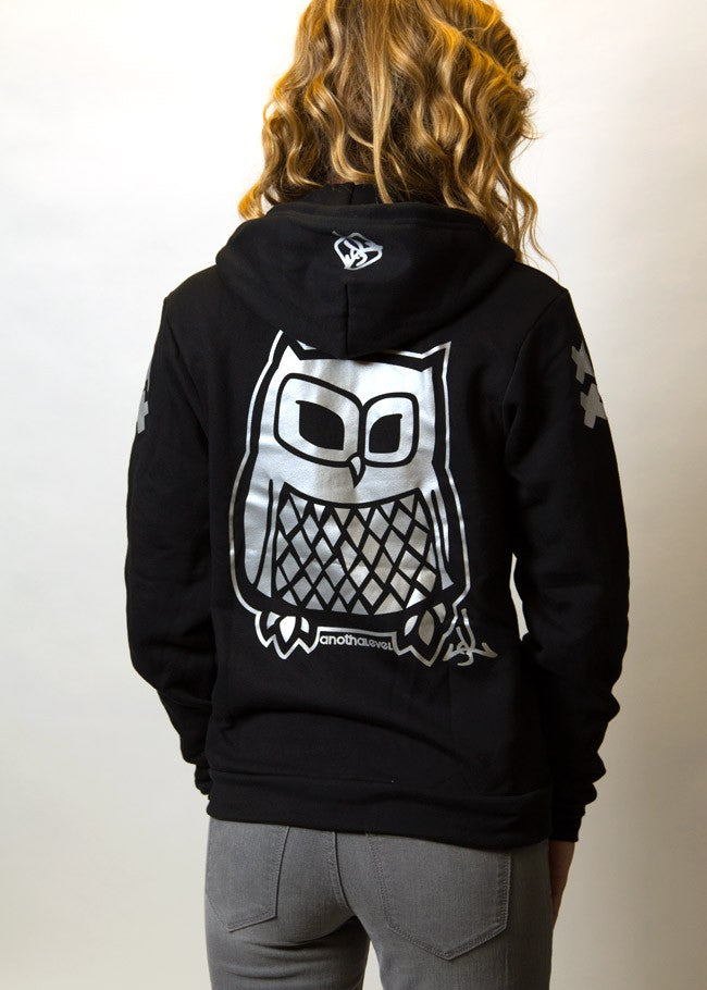 aa530f32 3M® Reflective Owl Zip-up Sweatshirt – Anotha Level
