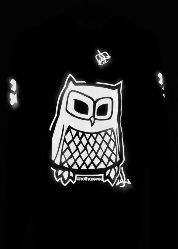 3M® Reflective Owl Zip-Up Sweatshirt