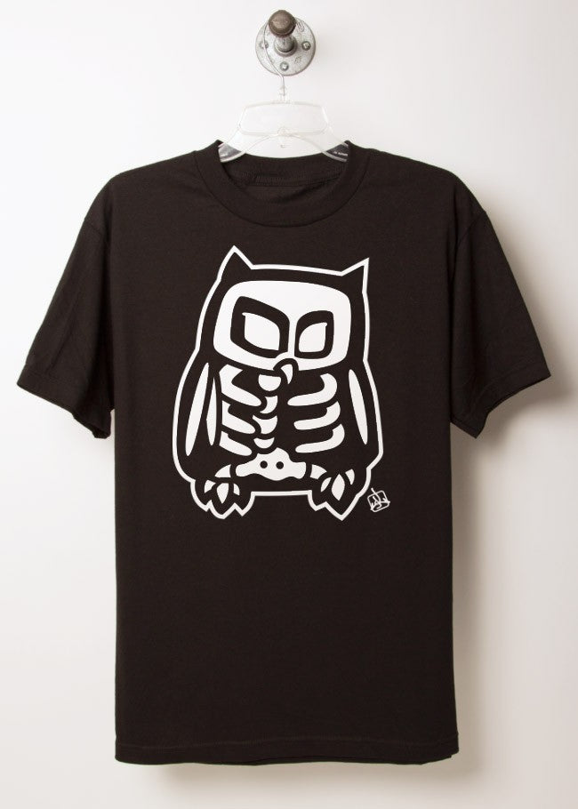 Skeleton Owl T-Shirt