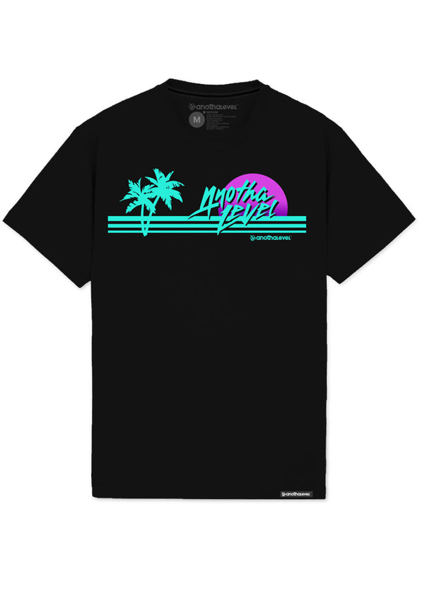 Cali Vice Sunset Palme T-Shirt