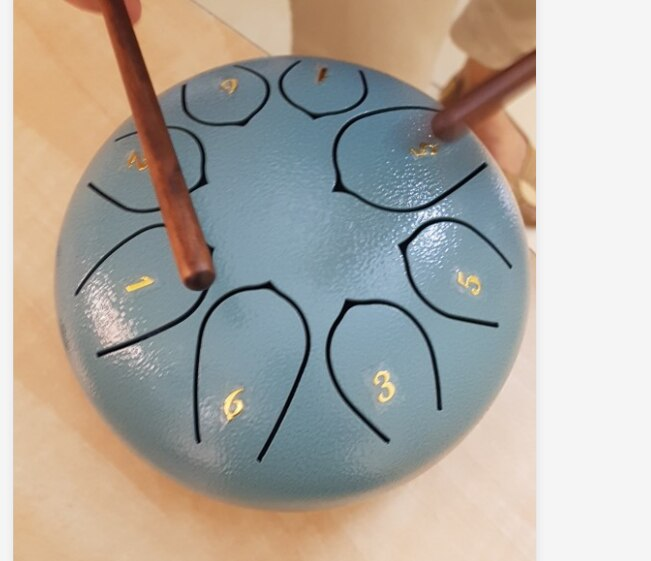 6 Inch Steel Tongue Drum Set | Percussion Musical Instrument